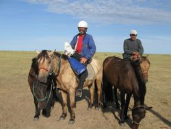 Mongolian's travel light