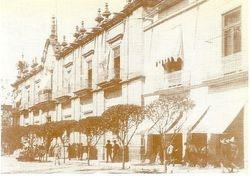 Av. Madero, Morelia, Michoacan. En 1920.