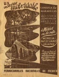 Promocional de viaje en Tren Pullman, por Michoacan.