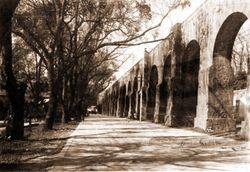Acueducto de Morelia, 1930.