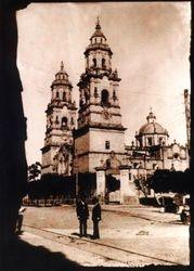 Catedral de Morelia, en 1900.