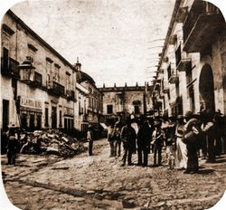 Cerrada de San Agustin, 1920.