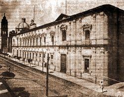 Colegio Teresiano (ahora Correos), 1904. Morelia.