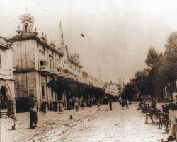 Fiestas Patrias en 1900. Morelia.