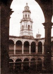 Interior Palacio de Gobierno, 1930. Morelia.