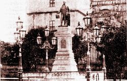 Antiguo Monumento a Morelos, 1900. Morelia.