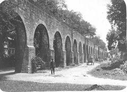 Acueducto de Morelia, 1940.