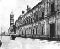 Av. Madero, 1930. Morelia.