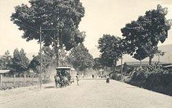 Carretera de Michoacan. 1930.