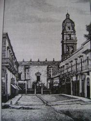 Cerrada de San Agustin (Portal Hidalgo), Morelia.
