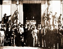 Estudiantes del Colegio de San Nicolas, 1937.