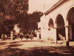 Garita a Chicacuaro, 1920. Morelia.