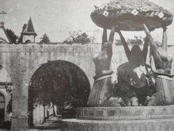 Antigua Fuente de las Tarascas, Morelia.