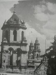 Cupulas y Catedral de Morelia.