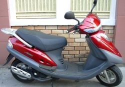 SYM Attila 125cc scooter - VND800,000/month (US$37) for long-term rental