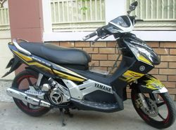 YAMAHA NOUVO II - SPECIAL EDITION 115cc scooter - VND1,000,000/month (US$45)