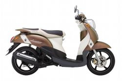 Yamaha Classico - Light Weight 115cc Automatic Scooter - Quite New - VND1,200,000/month (US$55) for long-term rental