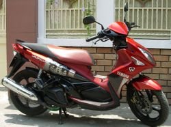 Yamaha Nouvo LX 135CC Automatic Scooter - Quite New - VND1,500,000/month (US$70) for long-term rental