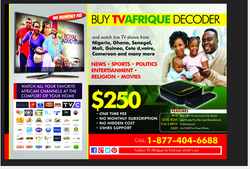 TVAFRIQUE BOX POSTER