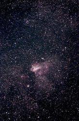 M17 (NGC 6618), Swan Nebula