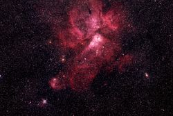 Eta-Carinae-Nebula NGC 3372