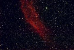 The California Nebula,