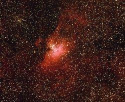M-16 The Eagle Nebula