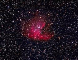 NGC-281 (The Pacman Nebula)