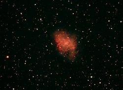 M-1 The Crab Nebula