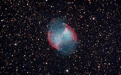 M-27 (NGC 6853) The Dumbbell Nebula