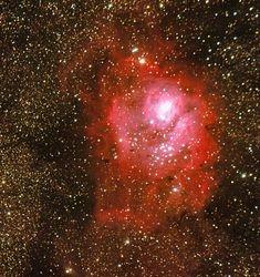 M-8 (NGC 6523) the Lagoon Nebula