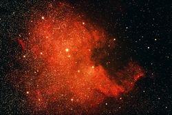 NGC-7000, The North American Nebula