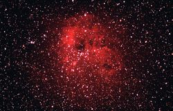 NGC 1893 (Open Cluster) and IC 410