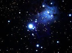NGC-2264 Lower Part  Christmas Tree Nebula