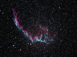 NGC-6992 Eastern Veil Nebula