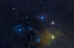Rho Opiuchus, Antares Region
