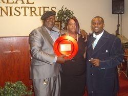 Trinity with Pops & Mom