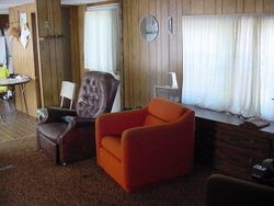 Inside of trailer living room