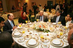 Saudi Ambassador to the United States Adel A. Al-Jubeir hosted an Iftar dinner at the Embassy in Washington 2009