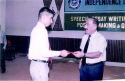Mir Iqbal at Cadet College larkana