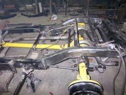 new narrowed frame rails