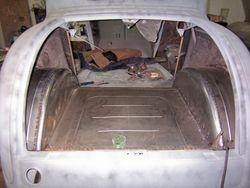 rear halfed