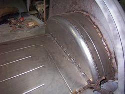 mini tubs/trunk floor