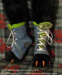 Digi shoes commission: 2011