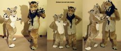 Luka Lioness and Simbayo Lion