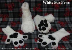 White Fox Paws: 2011