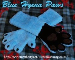 Blue Hyena Paws: 2012
