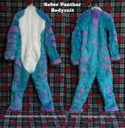 Saber Panther Bodysuit