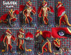 Sulfer Dragon, commission 2014