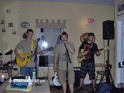Musicians at Espresso Coffee Bar